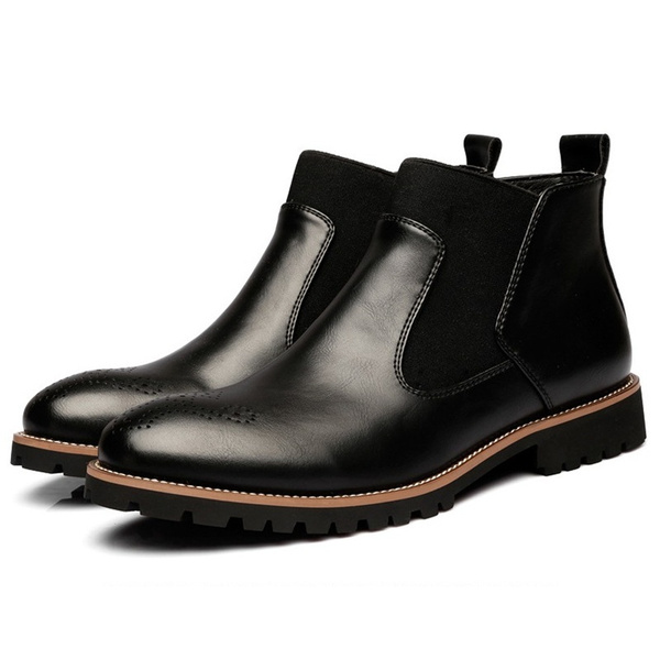 ankle boots, leather shoes, leather, Boots
