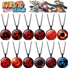 sharingan, Chain Necklace, eye, Jewelry