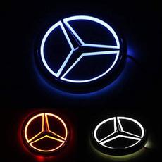 led, Mercedes, lights, Interior Design