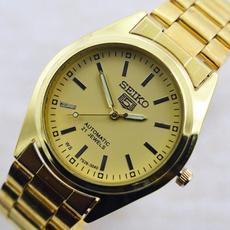 Steel, menwristwatch, Jewelry, gold