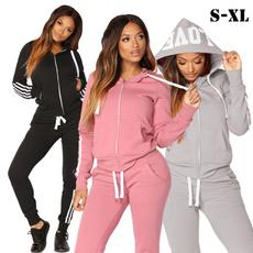Fashion, Long Sleeve, Pocket, jogging suit