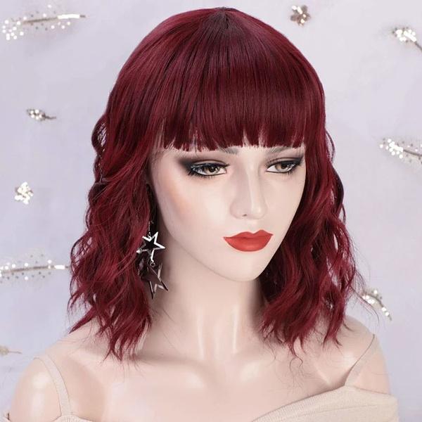 wig, hair, mothershorthairwig, Fashion