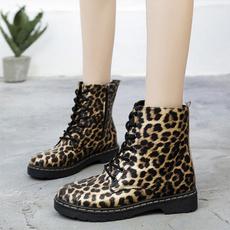 coolshoe, Womens Boots, velvet, leopardboot
