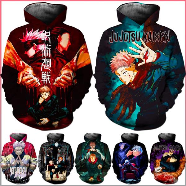 Fashion, hoodedjacket, youthclothing, anime hoodie