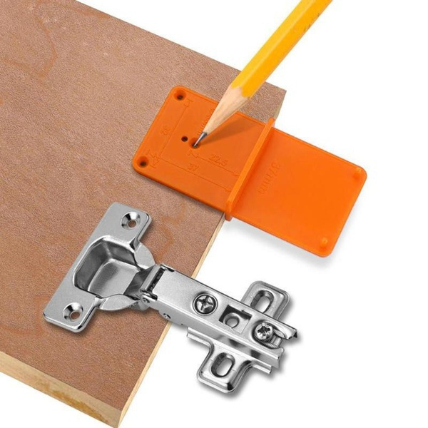 householdtoolset, Door, woodholelocator, holepunchtool