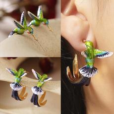cute, Jewelry, gold, Earring