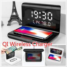 iphone12, led, Electric, Clock