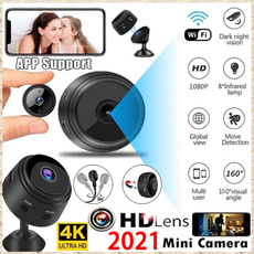 wificamcorder, Mini, 4kcamera, Monitors