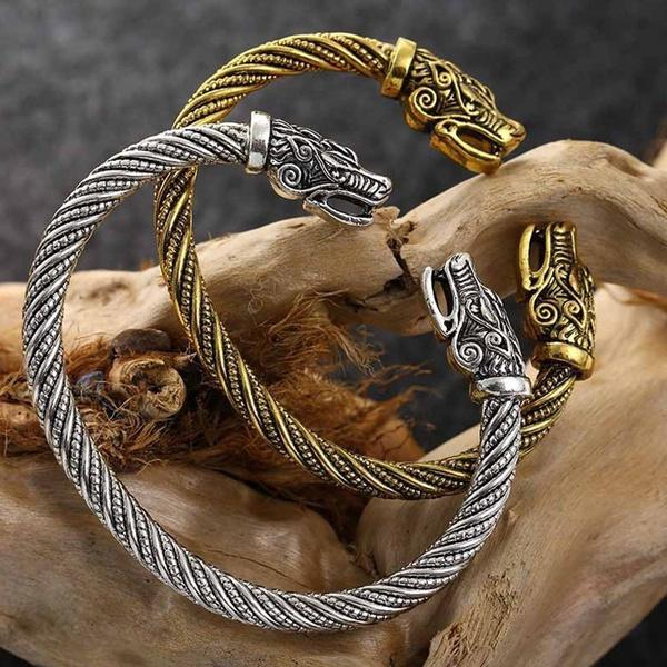 viking, Head, Fashion, Wristbands