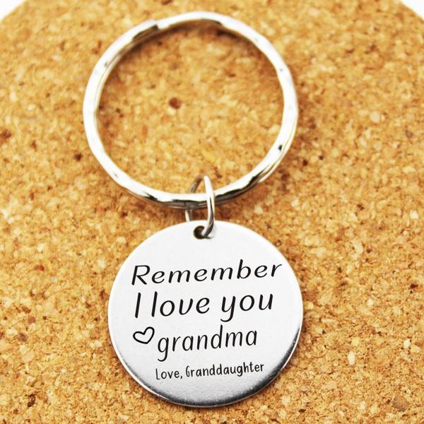 Love, Jewelry, Gifts, grandmagiftkeychain