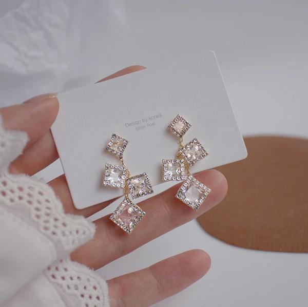 anniversaryearring, simpleearring, vintage earrings, Earring