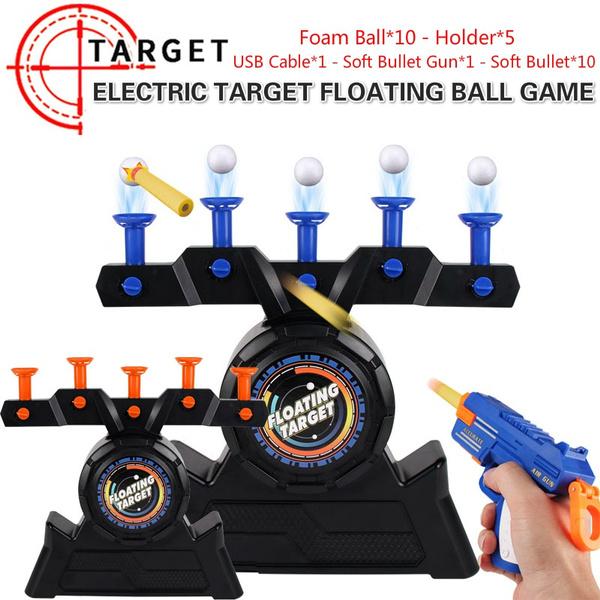 Flying, nerf, target, shootingtoy
