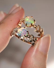 14k, DIAMOND, Jewelry, 925 silver rings