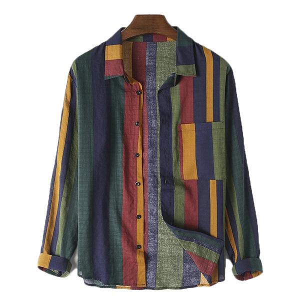 blouse, Fashion, long sleeve blouse, vintagestripeshirt