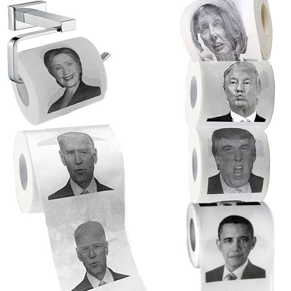 toiletpaperholder, Funny, Bathroom Accessories, trump