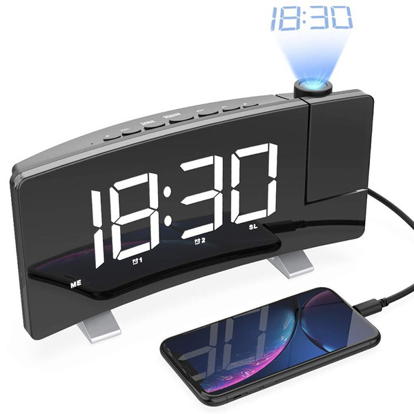 snoozealarmclock, Led Clock, usb, Radios & Alarm Clocks