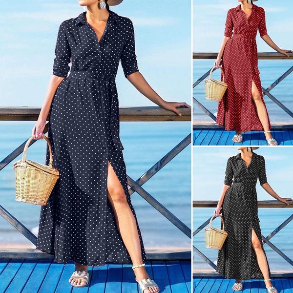 Fashion, long dress, Dress, belteddres