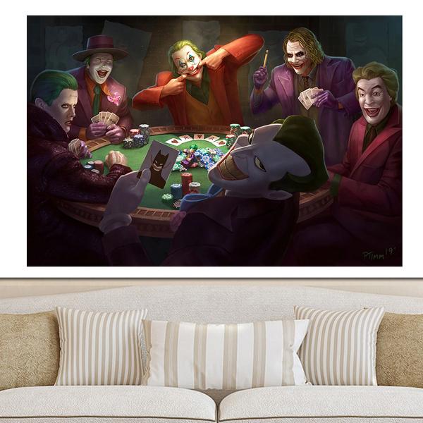 Joker, Decor, inspirationalposter, Wall Art