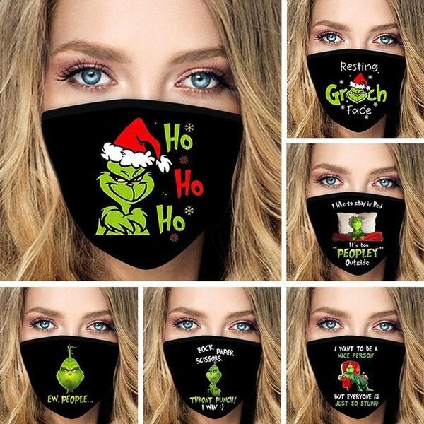 dustproofmask, mouthmask, Christmas, unisexmask