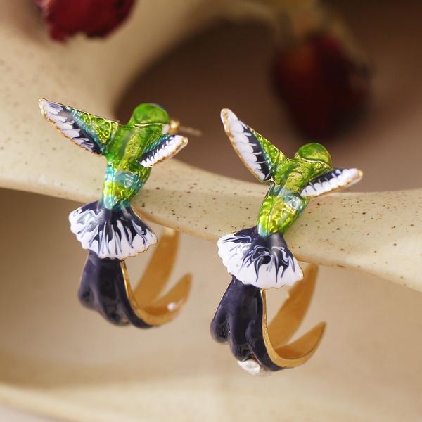 Fashion, gold, Stud Earring, wedding earrings