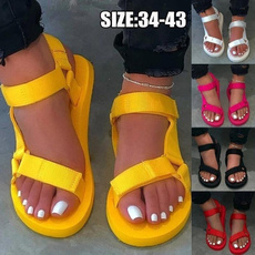 Summer, Outdoor, Platform Shoes, Fashion