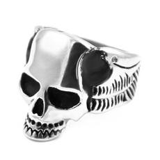 Steel, skullstainlesssteelring, shopping, Jewelry