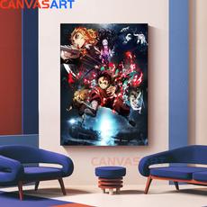Anime & Manga, canvaspainting, Home & Living, Posters