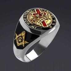 Sterling, christmasgiftring, crossringformen, Jewelry