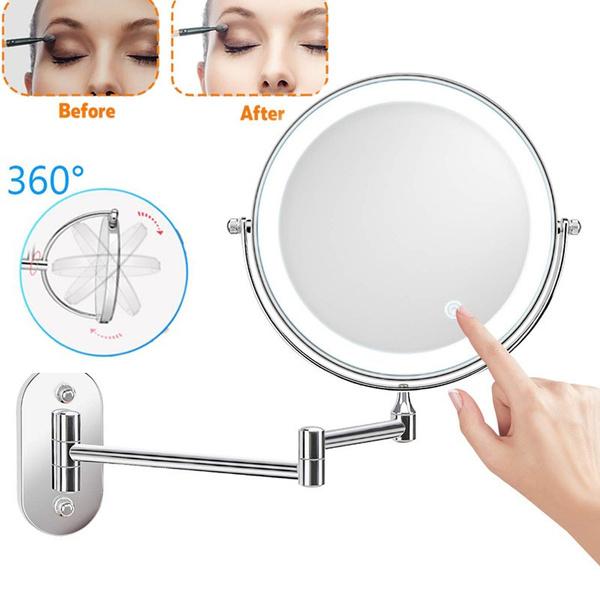Makeup Mirrors, Makeup Tools, Bathroom, led