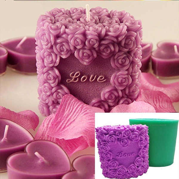 Heart, Flowers, Gifts, Silicone