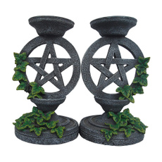 Candleholders, sacrificialaltar, Home Decor, wicca