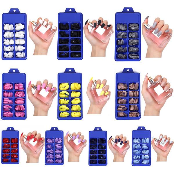 nail decoration, mattefalsenail, Beauty, Nail Art Accessories