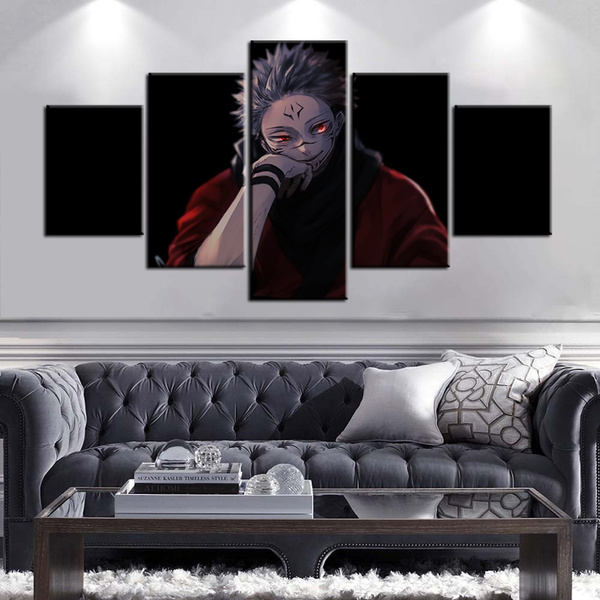 canvasart, jujutsukaisenposter, Wall Posters, Stickers