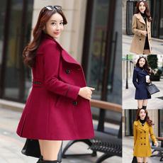 woolen, woolen coat, Plus Size, trenchcoatforwomen