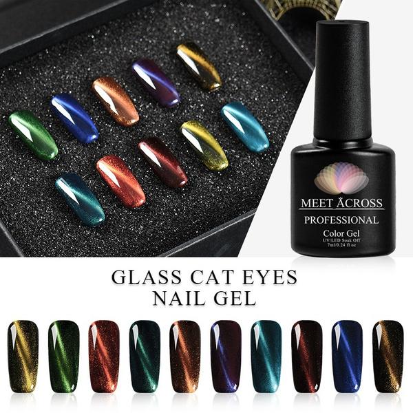 nail decoration, cateyegelpolish, led, Beauty