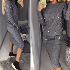 pencil, Fashion, ladiessweater, knitted sweater