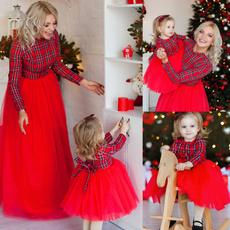 christmasdressesforwomen, plaid, Christmas, Family