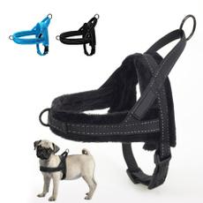 Vest, Adjustable, Dog Collar, plushpadded