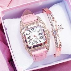 quartz, Jewelry, Clock, Simple