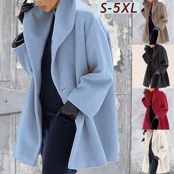 casual coat, Fleece, Plus Size, Sleeve