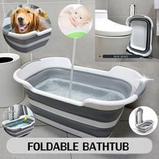 folding, Silicone, Dogs, Bath