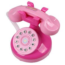 pink, cute, Toy, babytoyphone