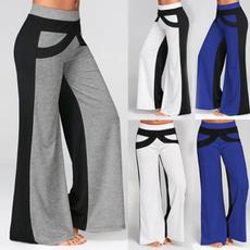 Leggings, trousers, wideleg, high waist