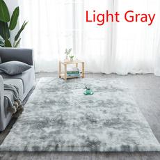 Gray, bedroomcarpet, Home Decor, softfluffyrug