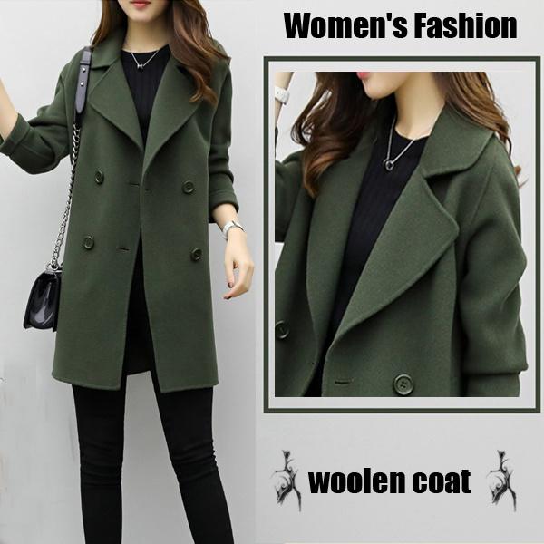 woolen coat, cardigan, Winter, coatsampjacket