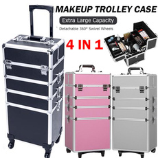 case, Aluminum, Beauty, makeuporganizercase
