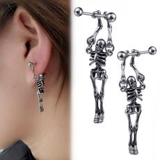 Men Jewelry, Goth, Fashion, punk earring