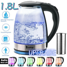Steel, waterkettle, led, Electric