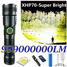 Flashlight, Batteries, Hiking, Outdoor