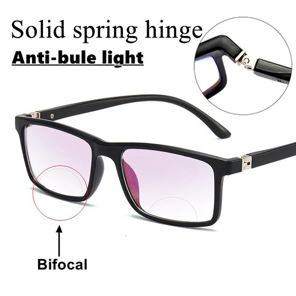Square, bifocal, lights, presbyopic
